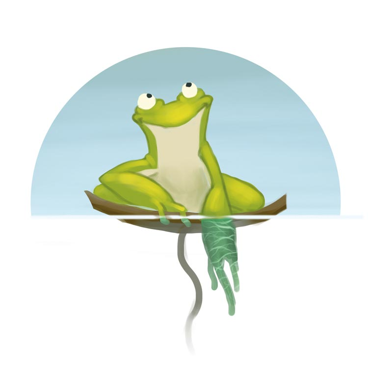 Fillup Frog's Fly Feast