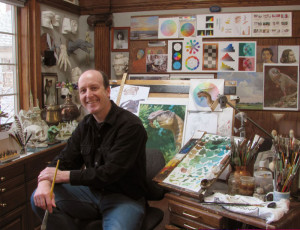 James-Gurney-in-Studio